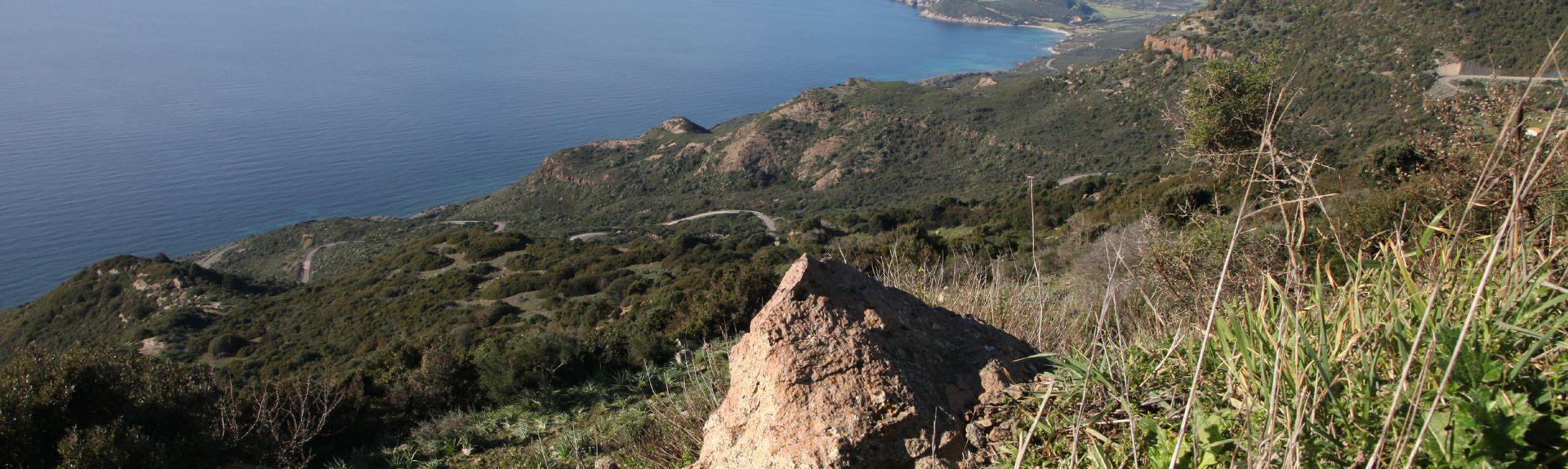 Monteleone Rocca Doria, Sardinien, Italien