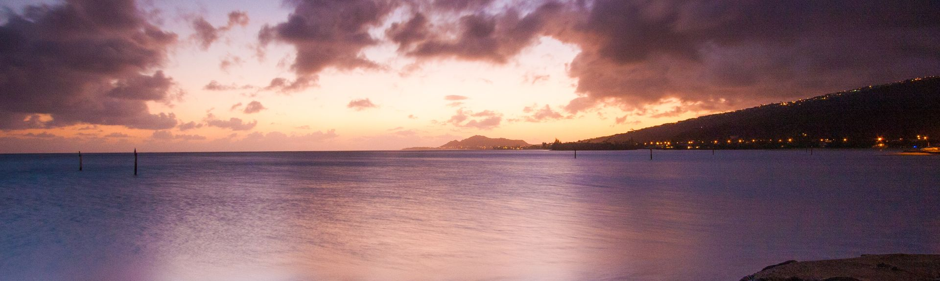 Kaimana Beach, Honolulu, Hawaii, United States