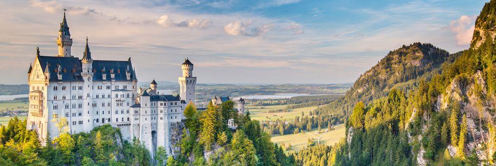 Füssen, Bayern, Tyskland