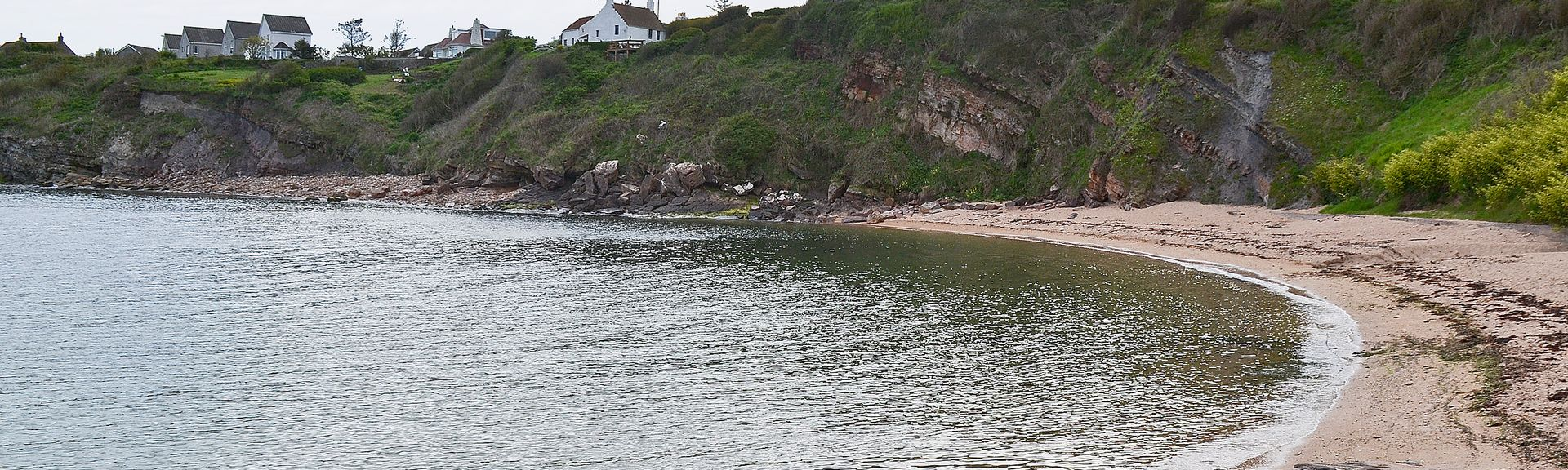 Yellowcraigs, North Berwick, Schotland, Verenigd Koninkrijk