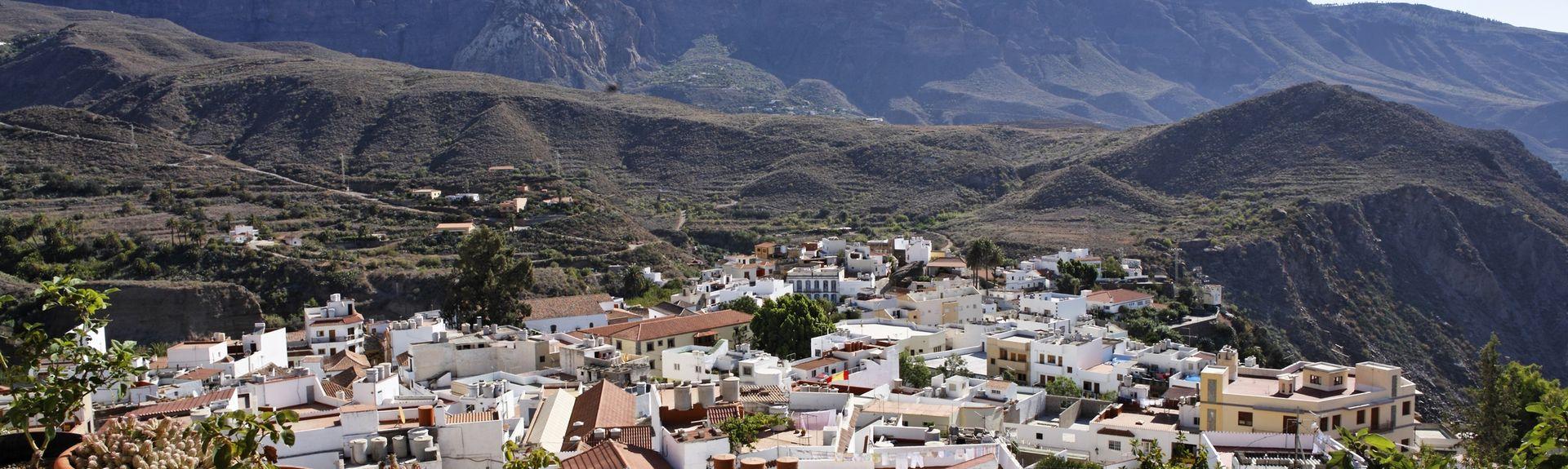 San Bartolome de Tirajana, Kanarieöarna, Spanien