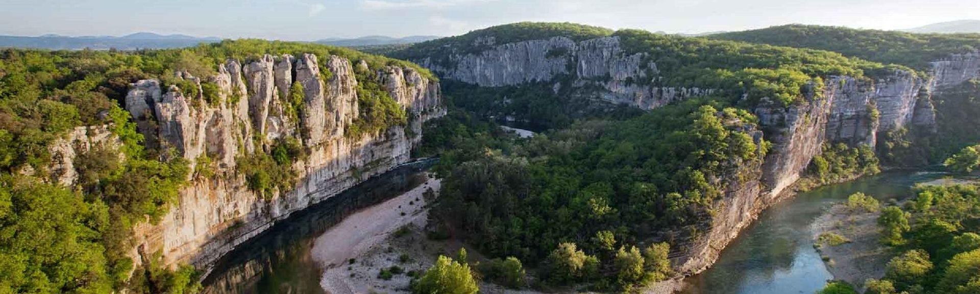 Vals-les-Bains, Ardèche Département, Frankreich