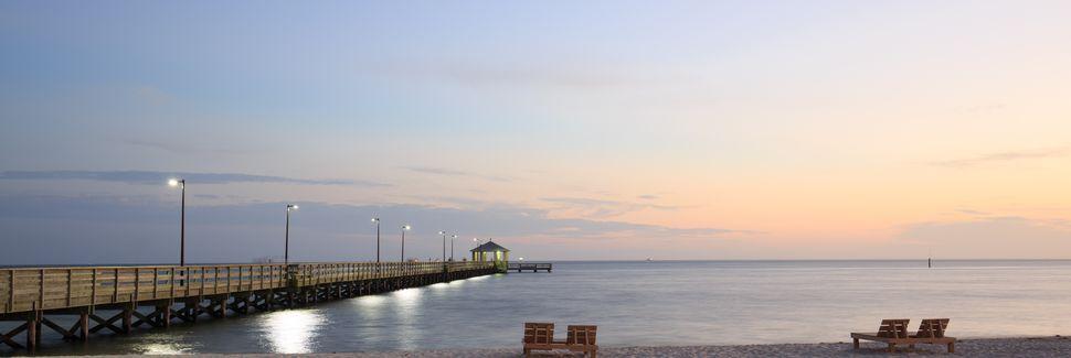 Biloxi Beach, Biloxi, Mississippi, Stati Uniti d'America