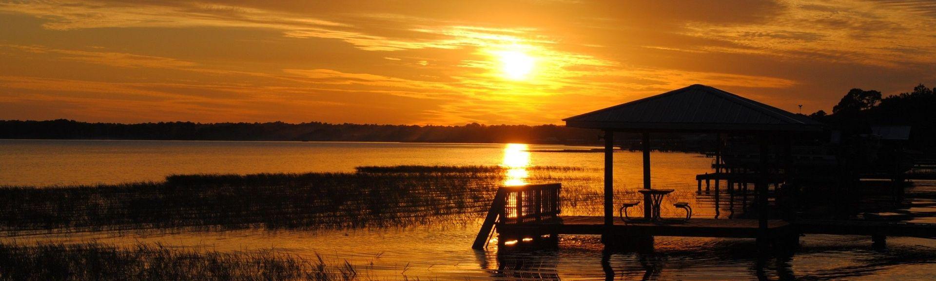 Lake June-in-Winter Scrub State Park, Lake Placid, Florida, United States