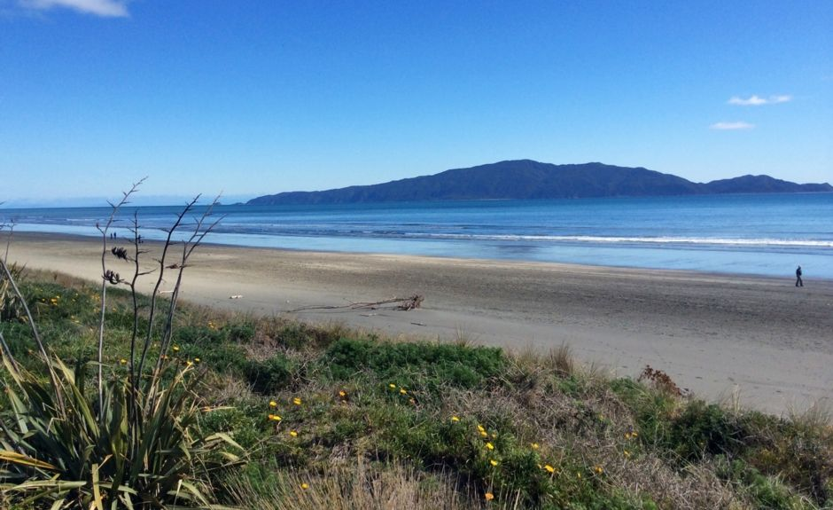 Waikanae Beach, Kapiti Coast, Wellington, New Zealand