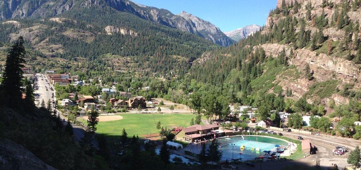 Ouray Hot Springs Pool, Ouray, Colorado, Estados Unidos
