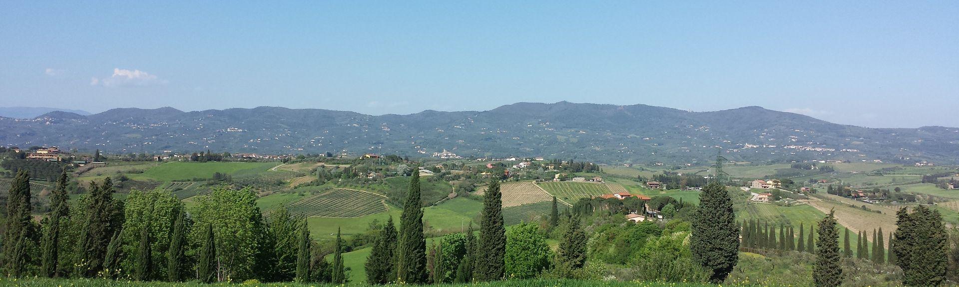 Artimino, Carmignano, Toscane, Italie