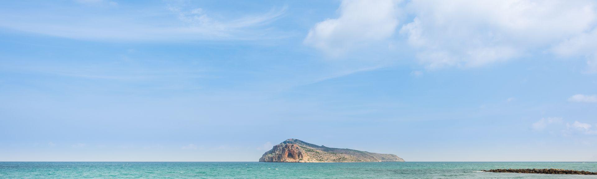 Voukoliai, Platanias, Kreta, Griechenland