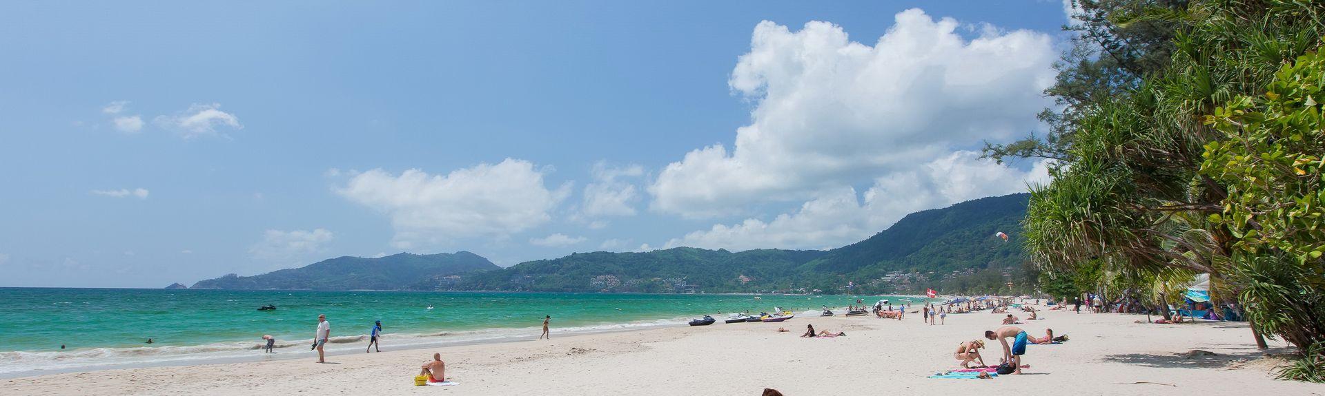 Praia de Kata, Karon, Phuket, Tailândia