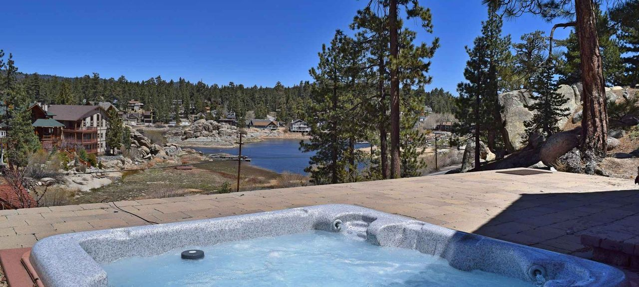 Boulder Bay, Big Bear Lake, Californië, Verenigde Staten
