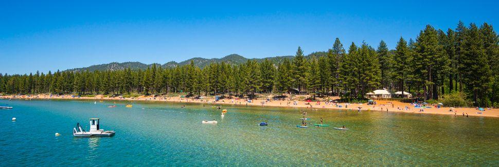 Sierra-at-Tahoe Resort, South Lake Tahoe, Californie, États-Unis d'Amérique