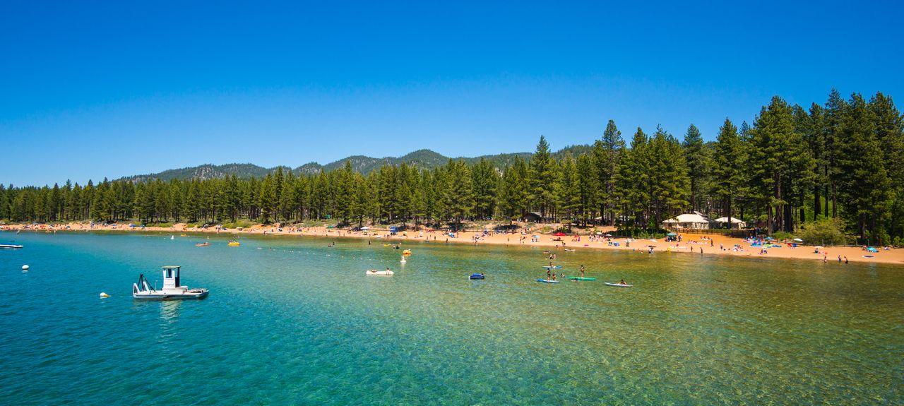 Sierra-at-Tahoe Resort, South Lake Tahoe, CA, USA
