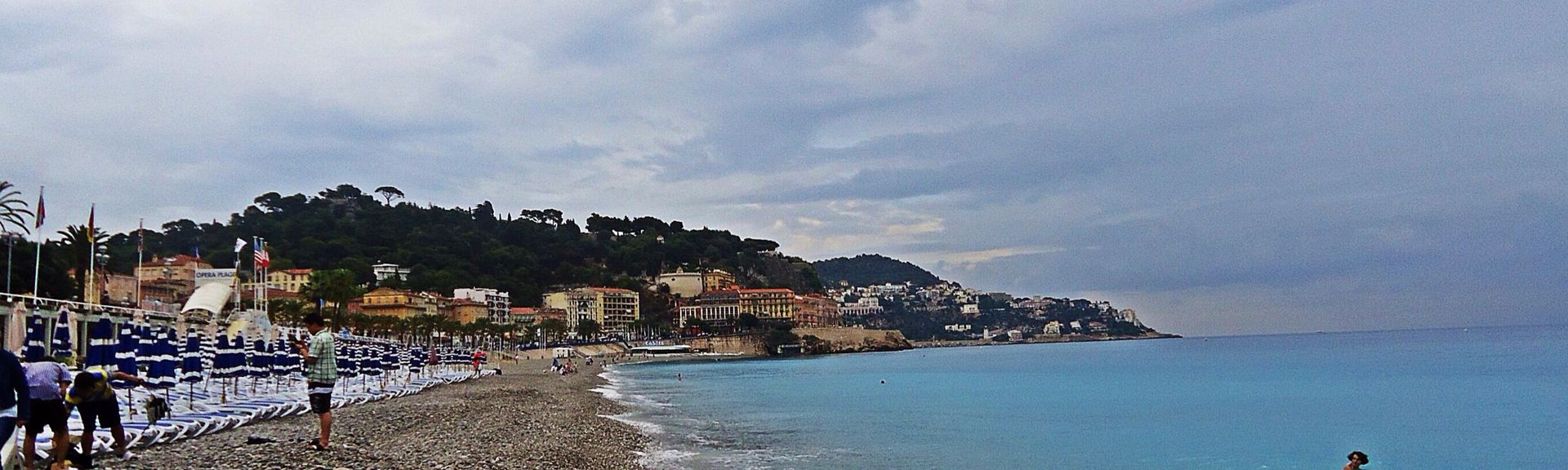 Promenade des Anglais, Nizza, Alpi Marittime, Francia