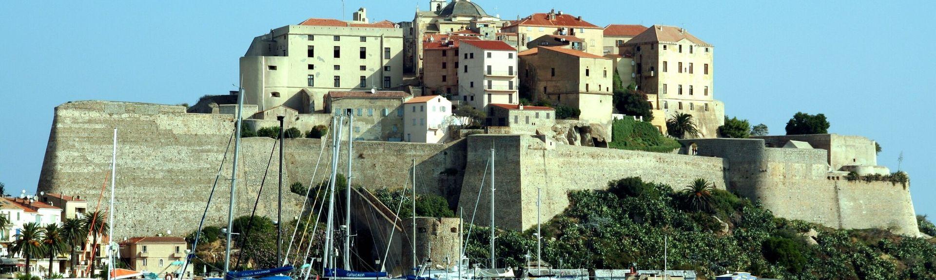 Citadelle de Calvi, Calvi, Korsika, Frankrike