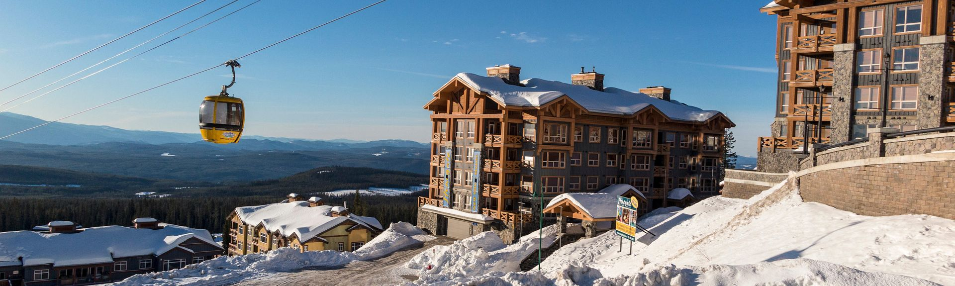 Big White Ski Resort, Beaverdell, British Columbia, Kanada