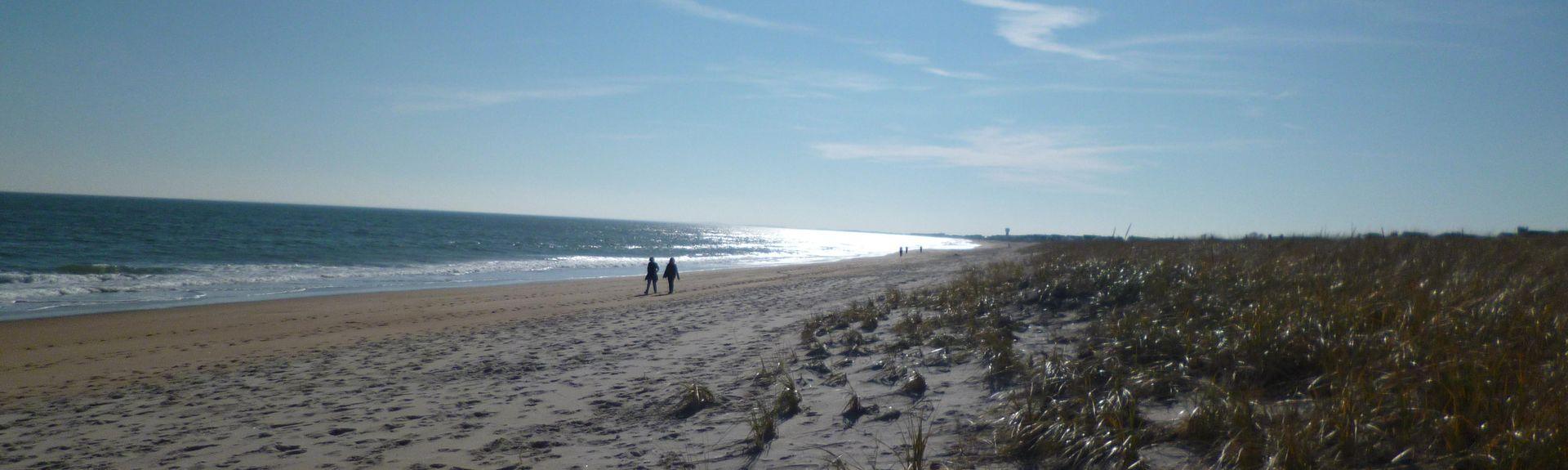 Seabrook Beach, Seabrook, NH, USA