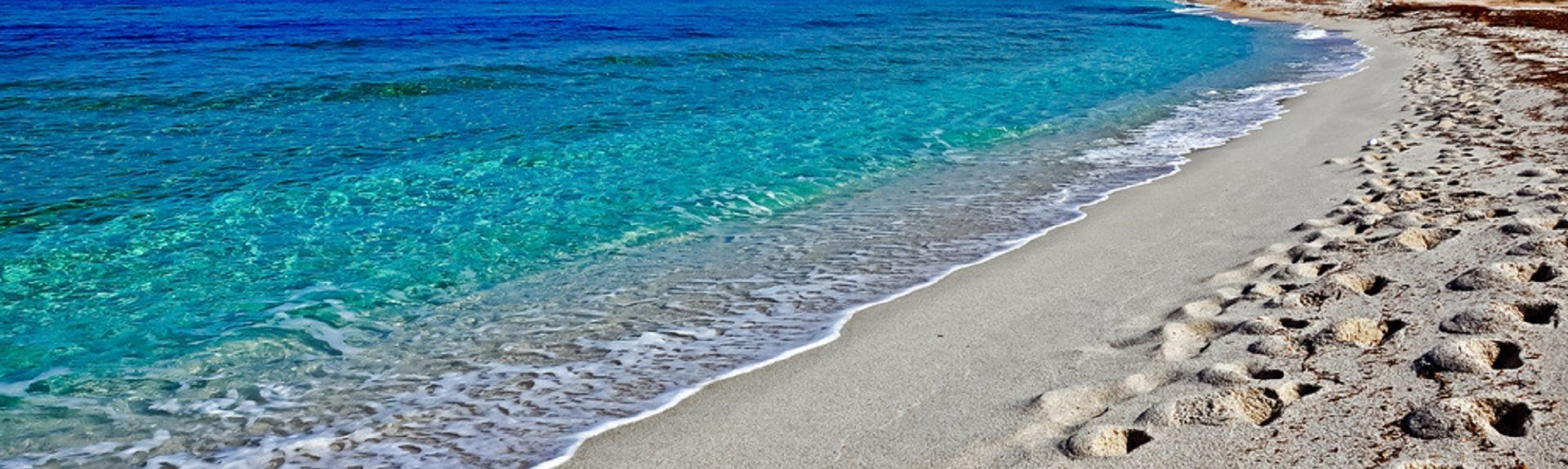 Is Arenas-stranden, Sardinia, Italia