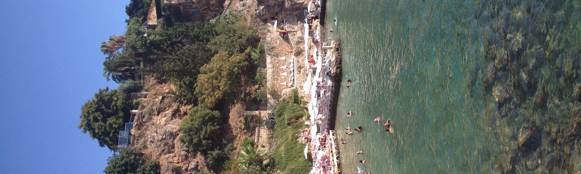 Praia Cirali, Kemer, Antália (região), Turquia