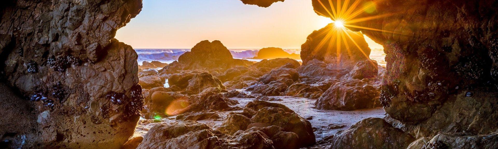 El Matador State Beach, Malibu, Califórnia, Estados Unidos