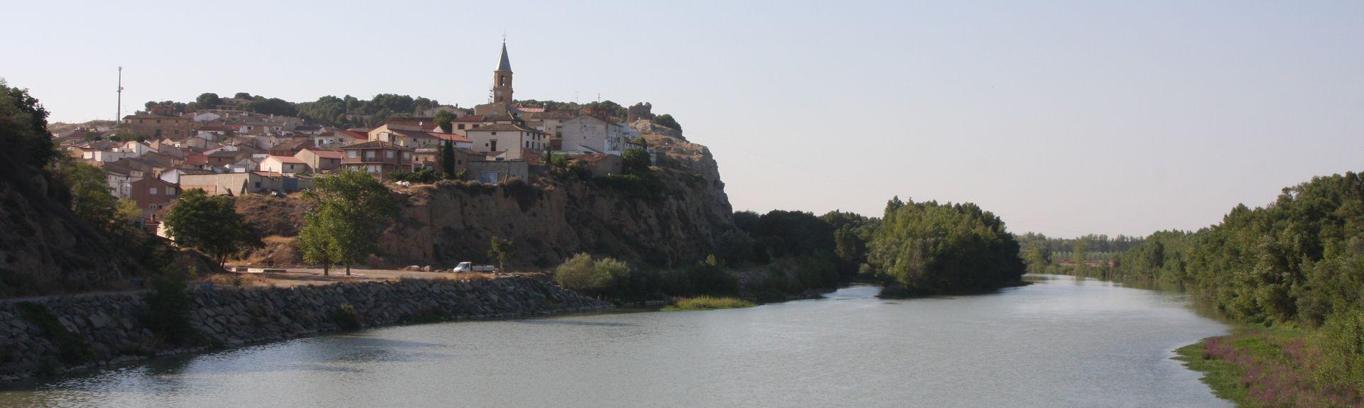 Plaza de los Fueros, Tudela, Navarra, Spania