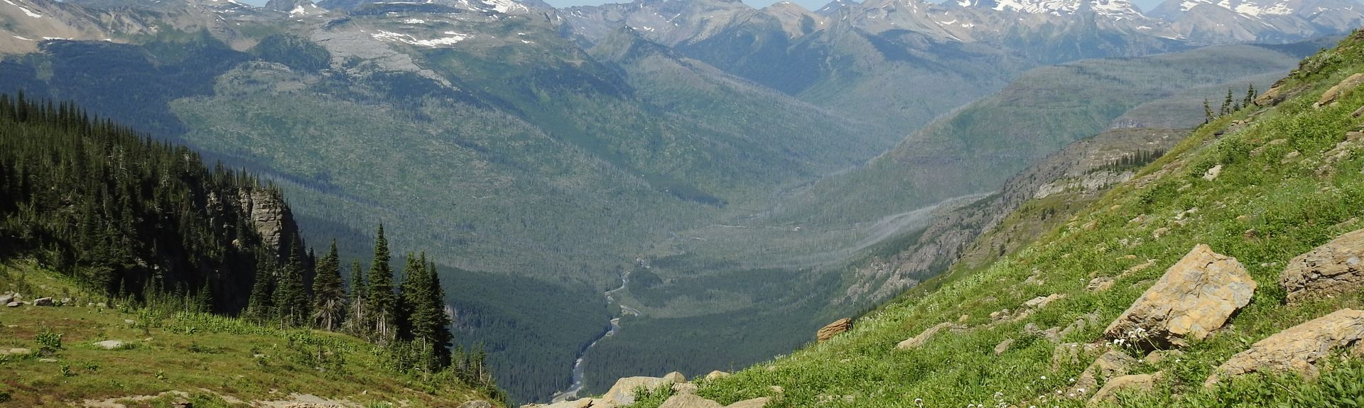 Σταθμός του Γουέστ Γκλέσιερ, West Glacier, Μοντάνα, Ηνωμένες Πολιτείες