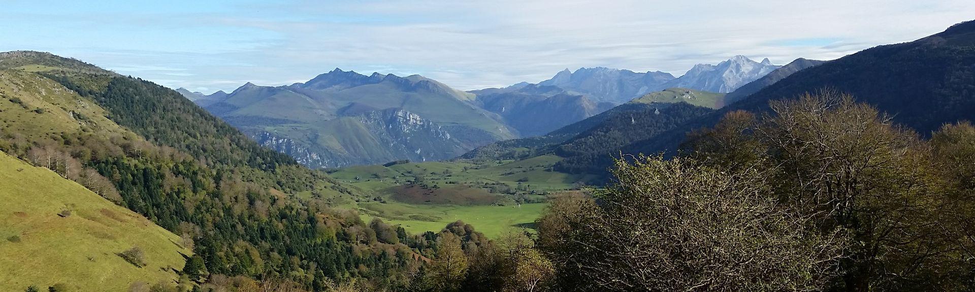 Oloron-Sainte-Marie, Département Pyrénées-Atlantiques, Frankreich