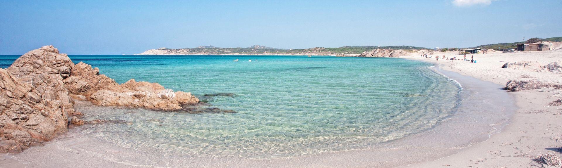 Spiaggia di Porto Pollo, Palau, Sardegna, Italia