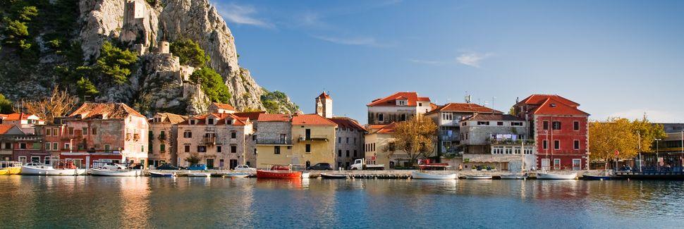 Omiš, Split-Dalmatia, Kroatia