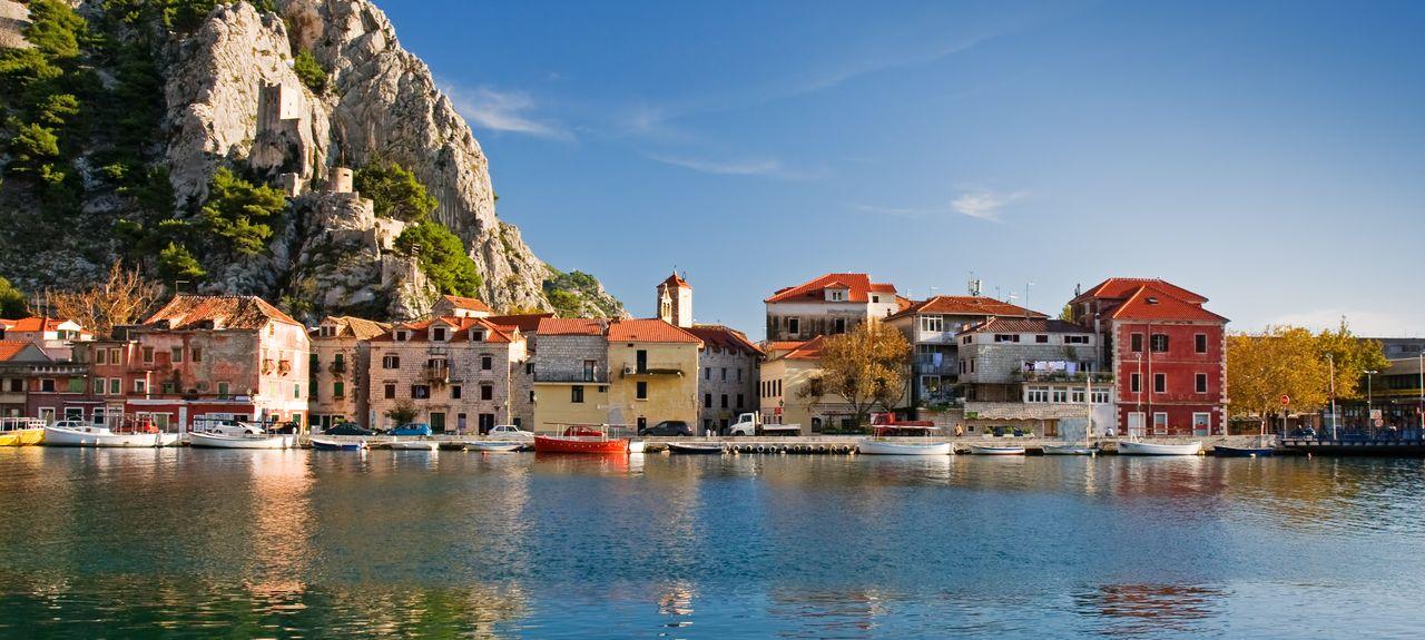 Omiš, Split-Dalmatie, Croatie