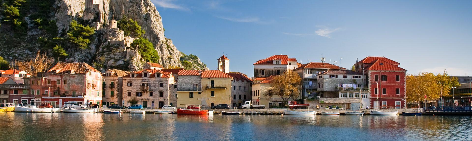 Omiš, Split-Dalmatia County, Croatia
