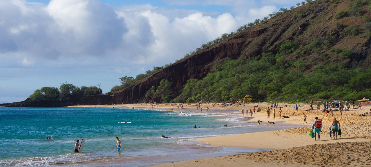 Makena Beach State Park, Wailea, Hawaii, United States