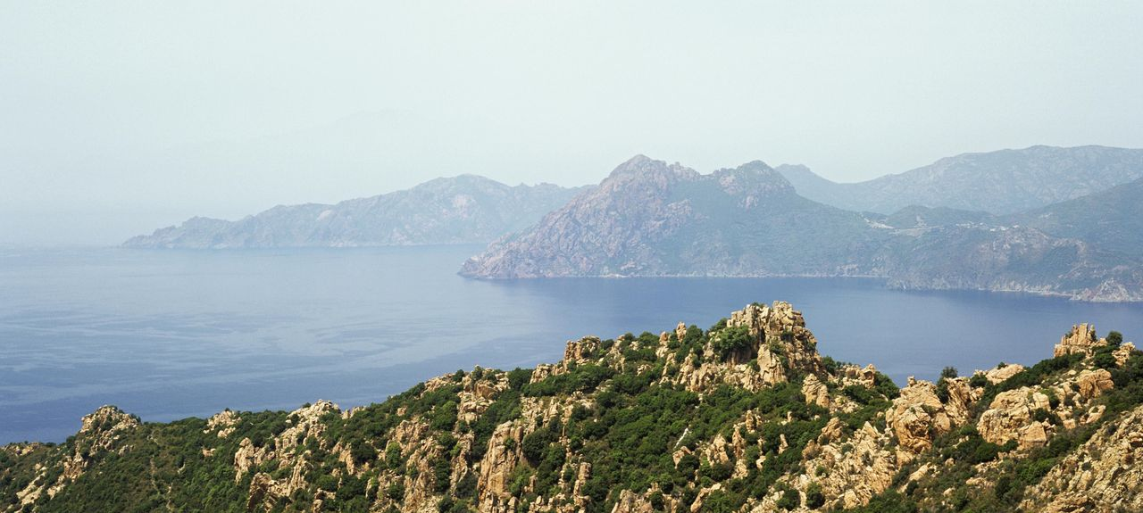 Calanchi di Piana, Piana, Corsica, Francia