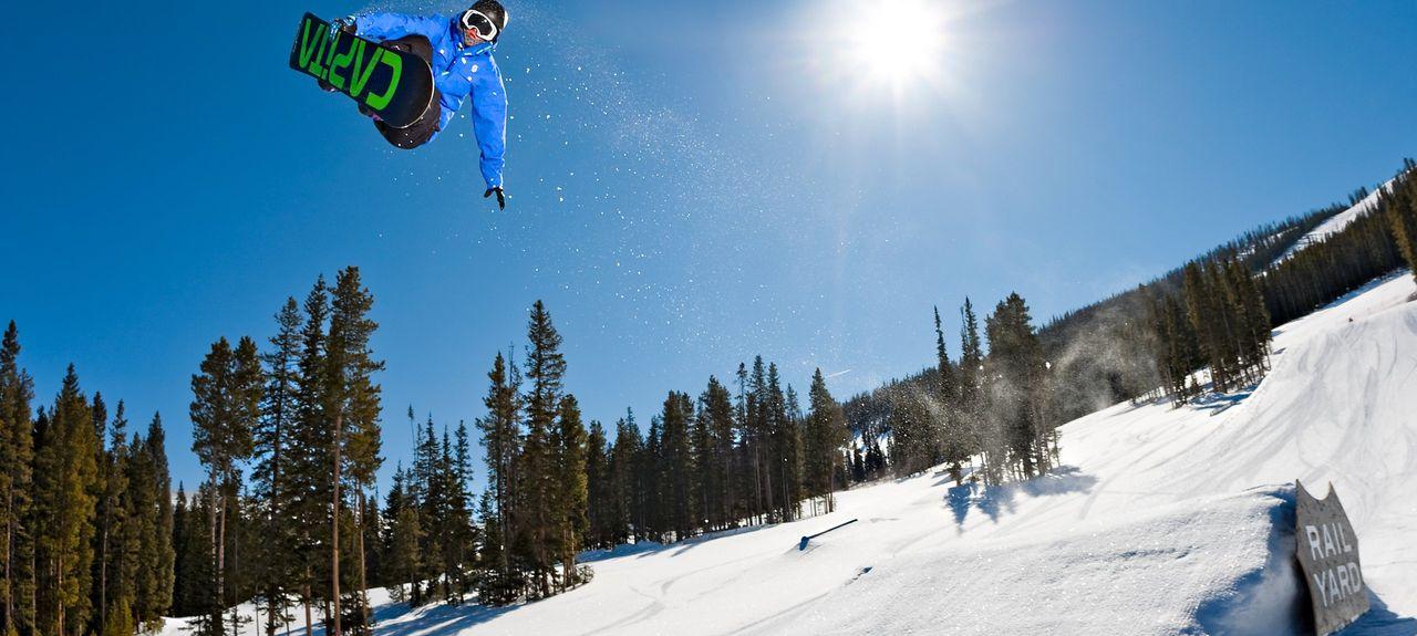 Winter Park Ski Resort, Winter Park, CO, USA