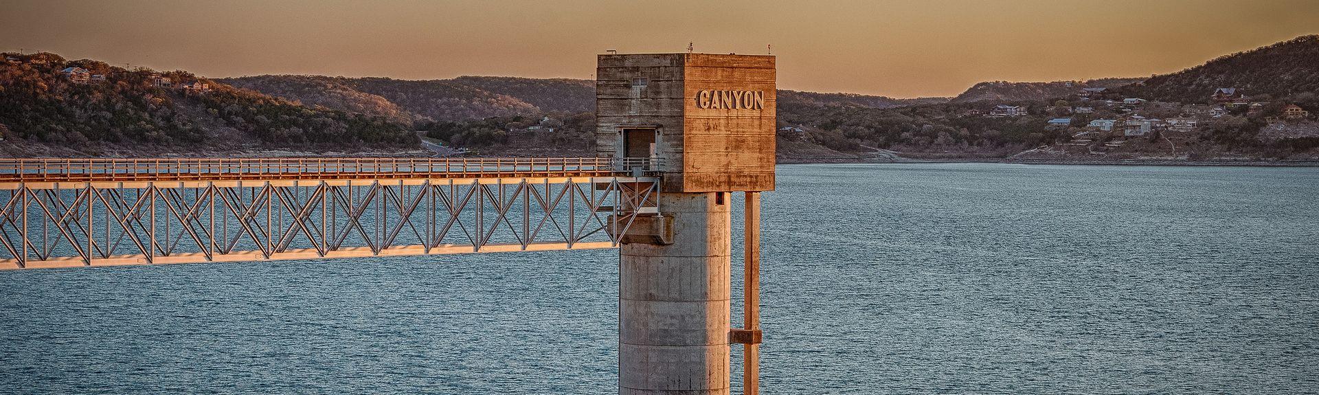 Port de plaisance de Canyon Lake, Canyon Lake, Texas, États-Unis