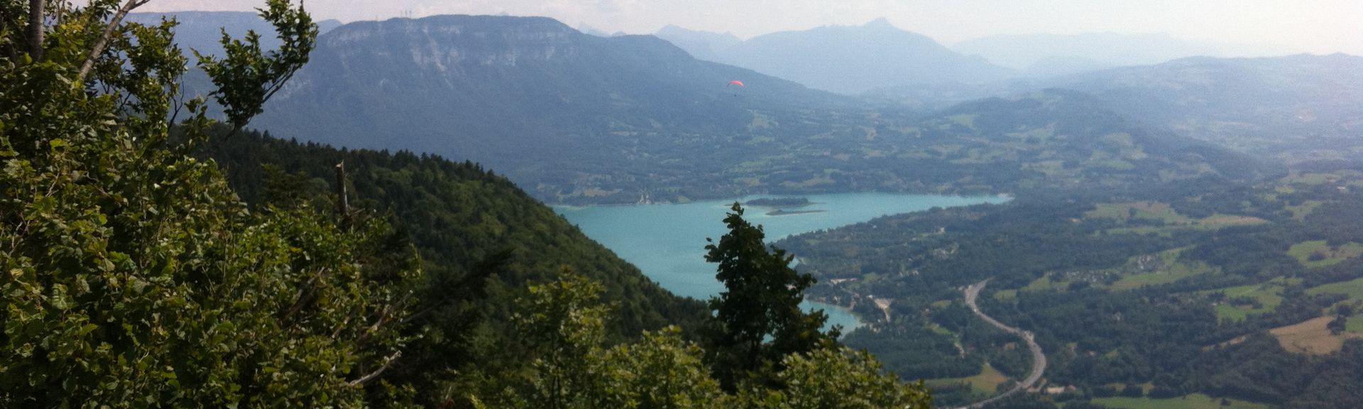Lac d'Aiguebelette, Savoie (departement), Frankrike