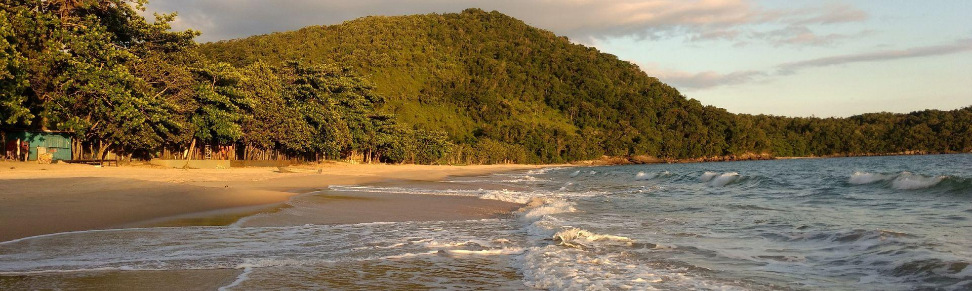 Barra Beach, Ubatuba, Southeast Region, Brazil
