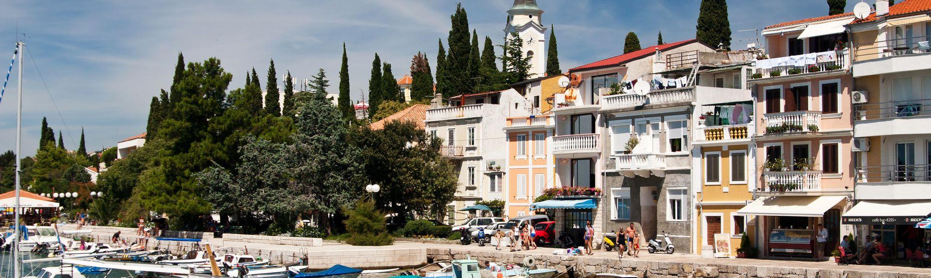 Crikvenica, Primorje-Gorski Kotar, Kroatien
