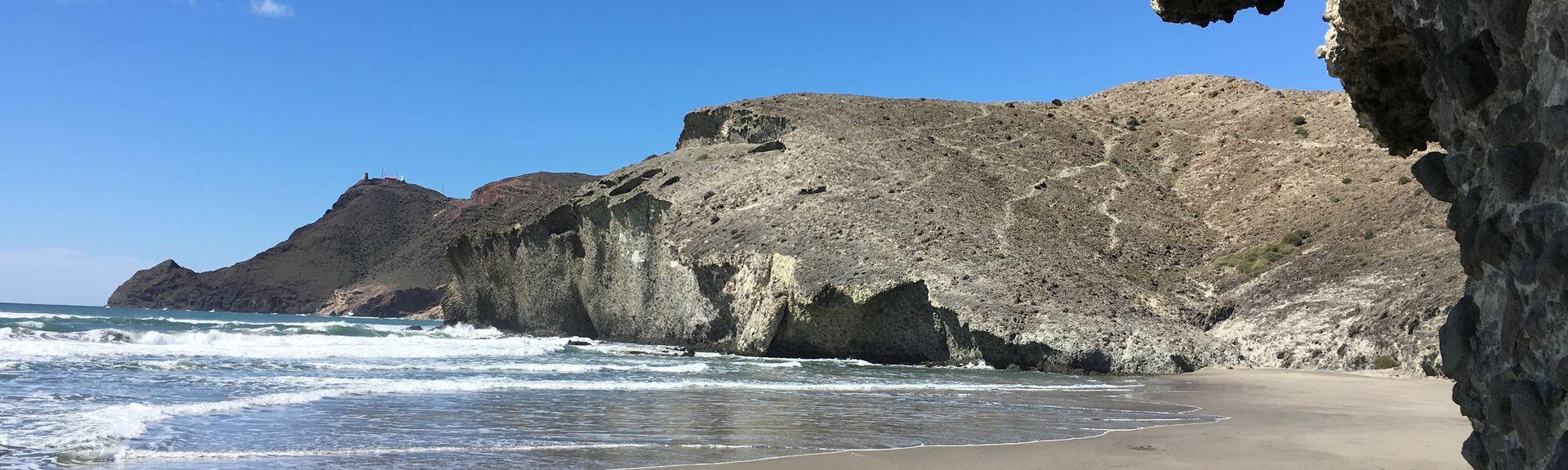 Playa de los Muertos, Carboneras, Andalusia, Spain