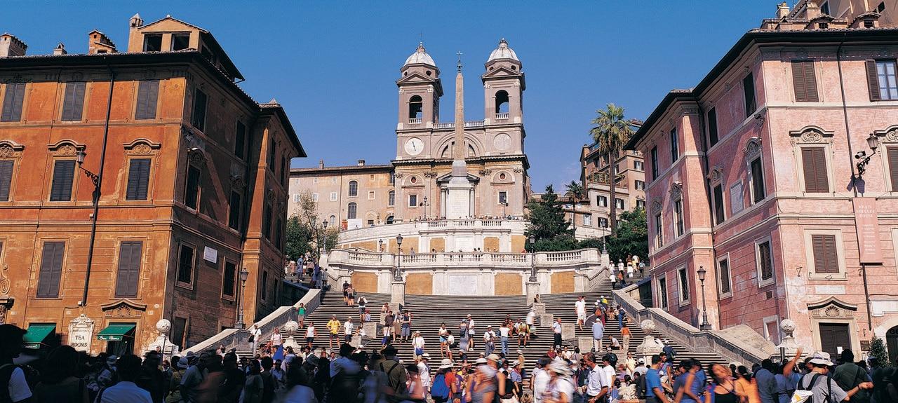 Piazza di Spagna, Roma, Lazio, Italia