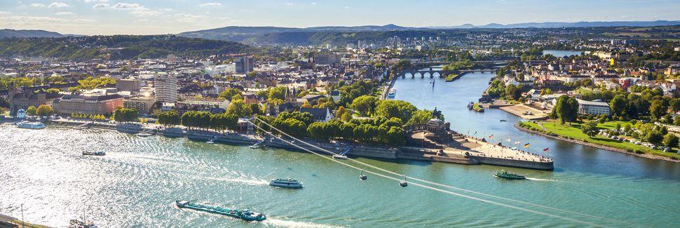 Koblenz, RheinlandPfalz, Deutschland