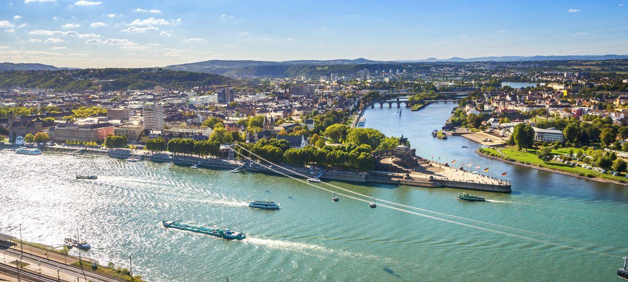 Koblenz, Rijnland-Palts, Duitsland