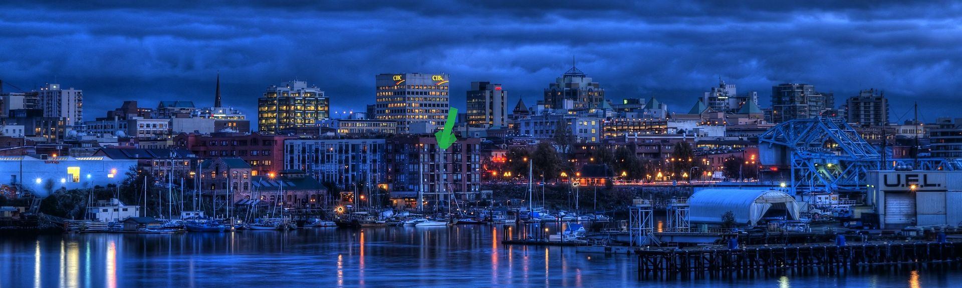 Swartz Bay Ferry Terminal, Sidney, British Columbia, Canada