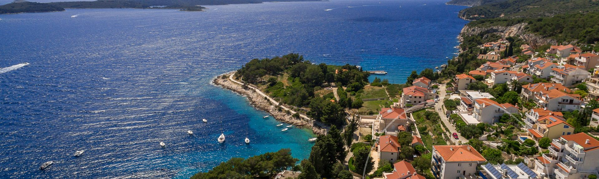 Zaglavs strand, Milna, Split-Dalmatiens län, HR