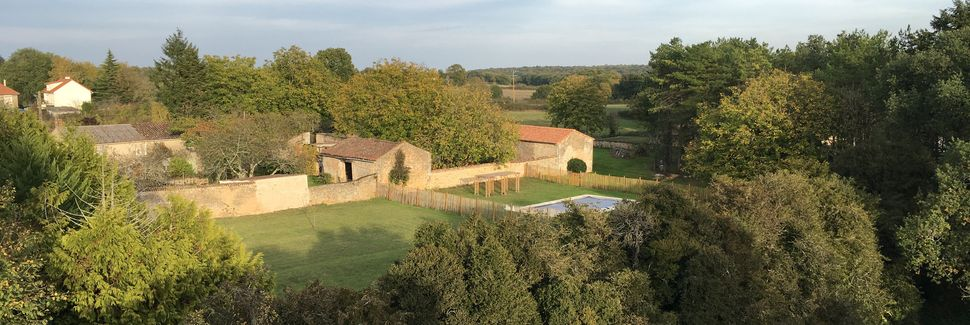 Saint-Martin-la-Pallu, Aquitaine-Limousin-Poitou-Charentes, Frankrijk