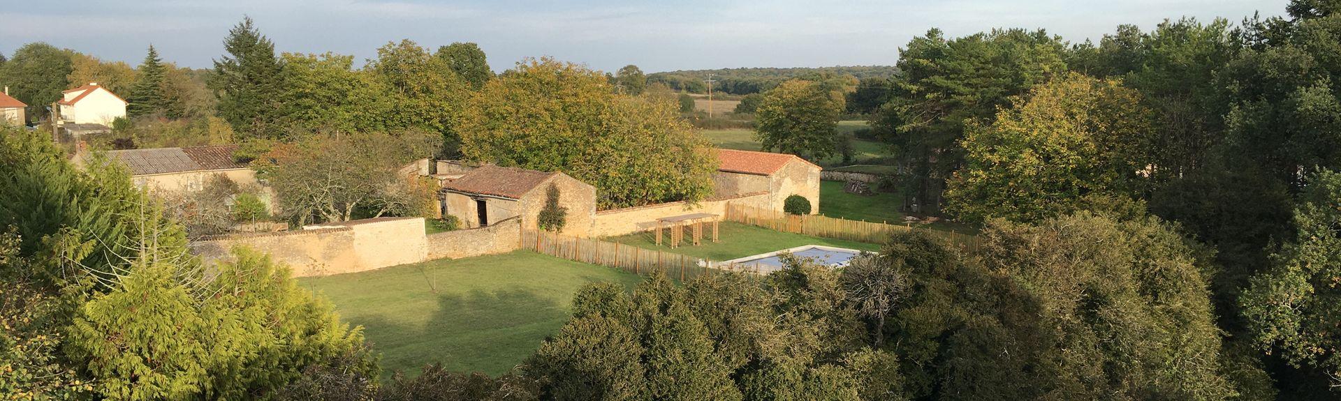 Saint-Martin-la-Pallu, Aquitaine-Limousin-Poitou-Charentes, Frankrike