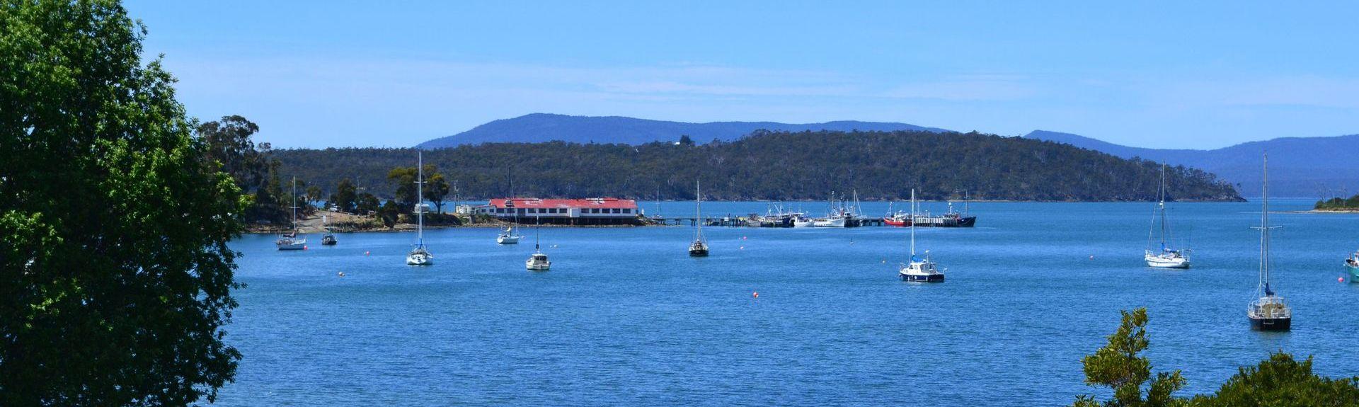 Bruny Island Ferry - Roberts Point Ferry Terminal, North Bruny, Tasmanien, Australien