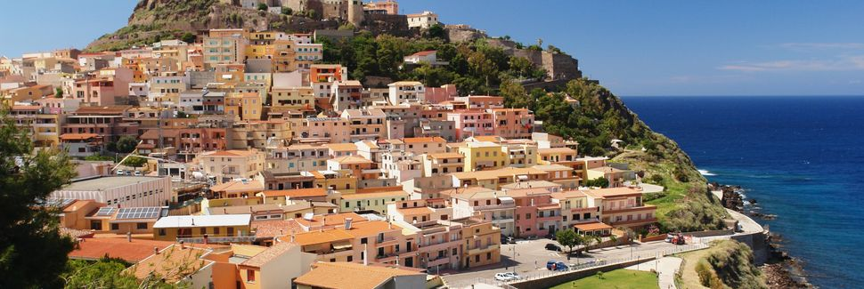 Castelsardo, Sardinia, Italia