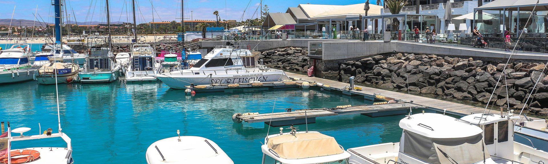 Caleta de Fuste Marina, Antigua, Spain