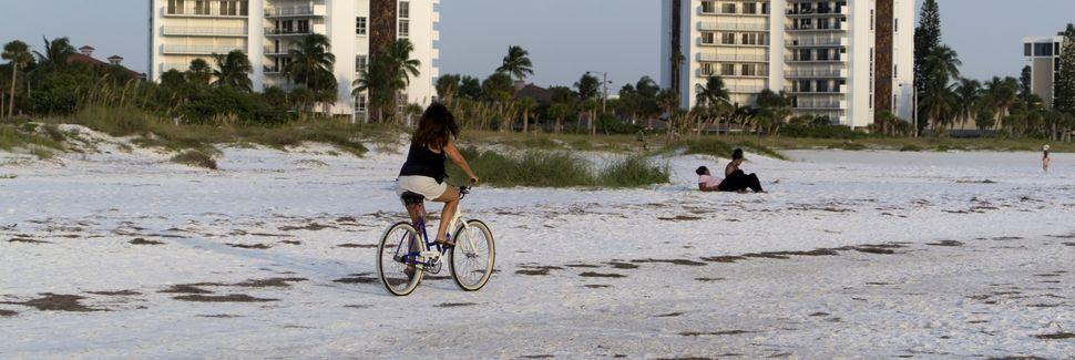 Spiaggia pubblica di Siesta Key, Siesta Key, Florida, Stati Uniti d'America