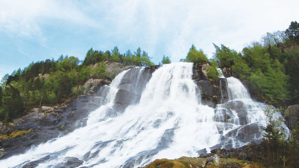 Vallavik, Comté de Hordaland, Norvège